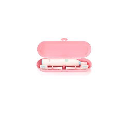 Geschikt voor elektrische tandenborstel doos elektrische tandenborstel reisdoos tandenborstel opbergdoos 210 * 70 * 45MM roze