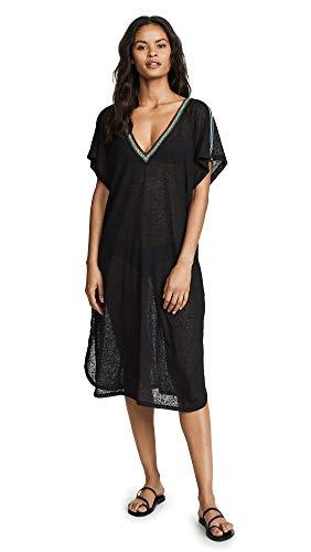 Pitusa Women's V Back Dress, Black, One Size