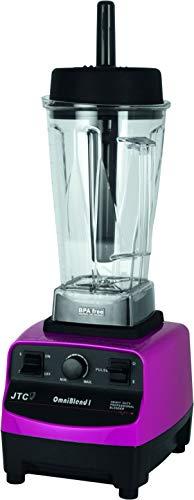 Saro Hochleistungsmixer JTC Omniblend V TM-767 für Smoothies, Cocktails, Saucen, Brei, Püree, crushed ice (2L, max 2240W, 6 Stahlklingen, stufenlos einstellbar, bruch- & hitzeresistent, BPA-frei) rosa