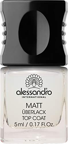 alessandro Basisplege Top Coat Matt, 1 x 5 ml