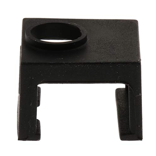 #N/A High Temperature Resistant Heater Block For 3D Printer Made Of Silicone - Black