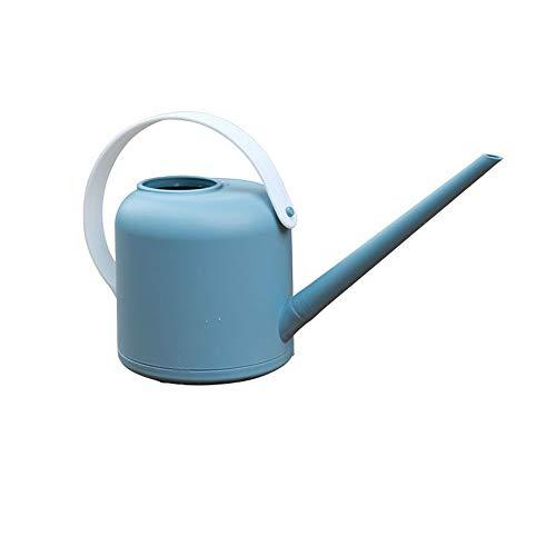 1800 ml PP Bonsai Gießkanne-Topf, abnehmbare lange Auslauf Gießkanne Kleine Bewässerungs-Kessel für drinnen und draußen (Blue)
