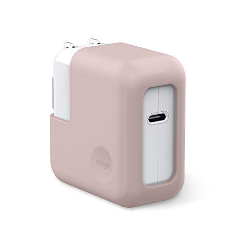 Capa carregador para MacBook da Elago para MacBook Air A1932 (2018), A2179 (2020) [Proteção extra] (Rosa areia)