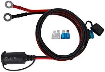 CUZEC 13.1ft / 4m Adapter Plug Socket with Eyelet Terminal (CU10191B)