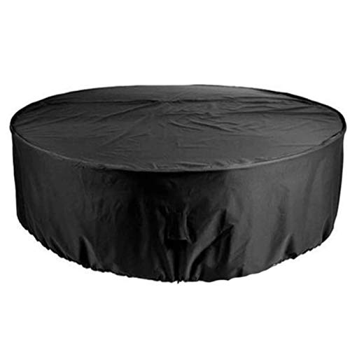BAOFI 250x110cm Garden Furniture Covers Waterproof, Patio Furniture Cover Rectangle, Customizable Outdoor Protective Case Shade Rainproof Dust-proof Chair Round Table, 24 Sizes,Black