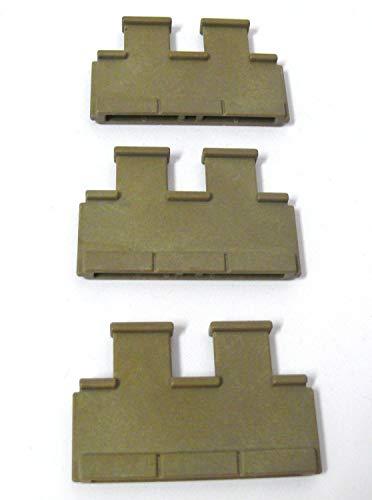 playmobil ® - 3x 2-fach Zinnen - Burg Ritterburg - 3 Zinnen 2-fach 3666/3667