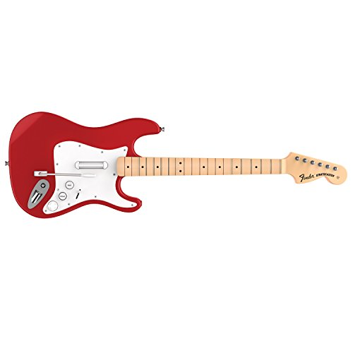 Rock Band 4 Wireless Fender Stratocaster Guitar Controller for PlayStation 4 - Red