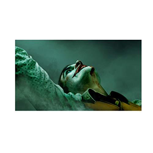 PSpXU Art Joker Filmplakate und Drucke Leinwand Malerei Wandkunst für Wohnzimmer Schlafzimmer Modernes dekoratives Bild-Rahmenlos-40X70cm