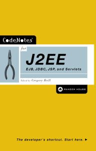 CodeNotes for J2EE: EJB, JDBC, JSP and Servlets (English Edition)