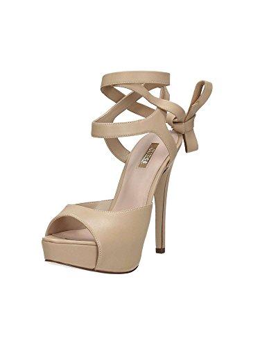Guess FLKAS1LEA07, color beige, Sandalias, Mujer, 38