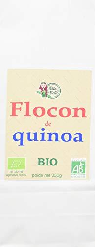 RITA LA BELLE Flocons de Quinoa Bio 350 g - Lot de 4