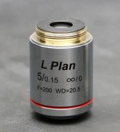 YUXIwang Microscope Long Working Distance LPL Metallurgical Microscope Infinity Plan Objective 5X
