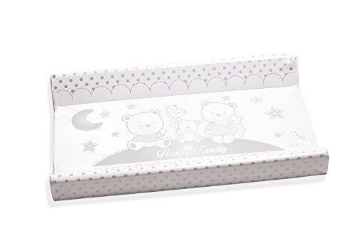 Italbaby 050.6010–10Happy Family cambiador PVC 2lados, 81,5 x 50 x 9 cm