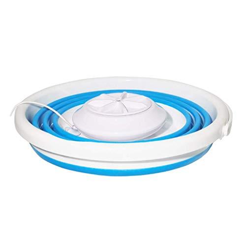 unknow Tragbare Ultraschall-Mini-Waschmaschine, Faltbare elektrische Sonic Turbo-Waschmaschine, für Camping Dorms Apartments College-Zimmer