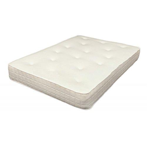4ft6 Hilton 10' Memory Foam Sprung Mattress Cool Touch