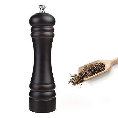 JOIDXIR Wood Pepper Grinder Refillable Adjustable Grinder ...