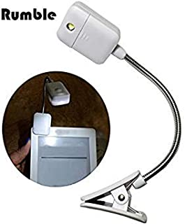 White Color : for Kindle Note Book Light Lamp White Color Booklight Led Ebook Light Mini Flexible Clip-on Book Reader Reading Lamp Convenient