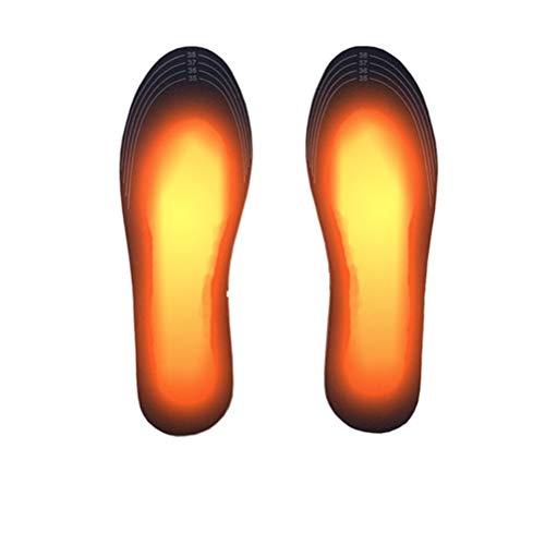 BSTQC Zapatos eléctricos de calefacción Powered Plantillas Calientes de los Calcetines Pies Calentador Lavable Placa Térmica Plantillas USB climatizada Plantillas USB climatizada Plantillas