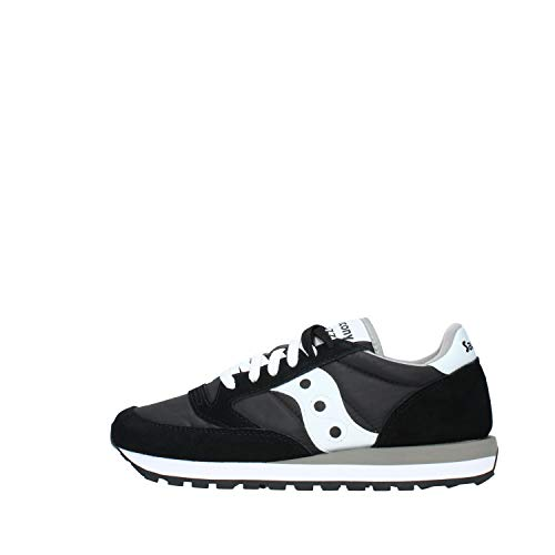 Saucony Unisex, Sneakers Colore Nero Bianco, Nuova Collezione Primavera Estate 2018