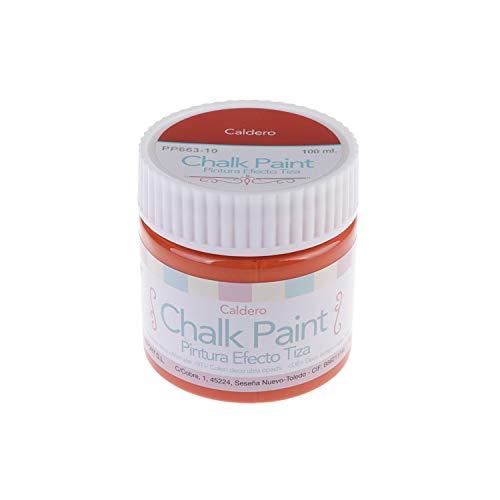 MP - Pintura Acrílica, Pintura Efecto Tiza, Chalk Paint Color Caldero -100 ml