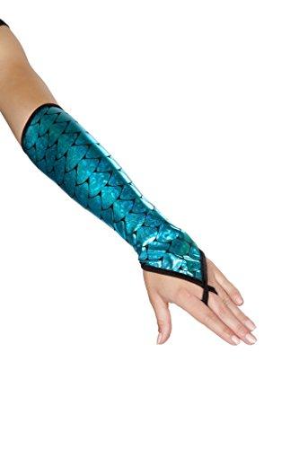 Mermaid Gloves Blue
