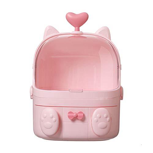 QFERW Étui à cosmétiques à coquilles 3 tiroirs Portable Boîte de Rangement pour cosmétiques Nomade Organisateur de beauté détachable Multifonctions, 20
