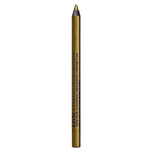 NYX PROFESSIONAL MAKEUP Slide On Pencil, Waterproof Eyeliner Pencil, Golden Olive
