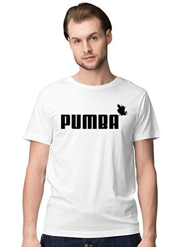 BLAK TEE Hombre Pumba Lion and The King Camiseta S