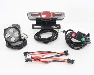 HalloMotor 24V 36 V 48 V 60 V Ebike elektrische Fahrrad Rückleuchten LED Bremsleuchte Elektrische Fahrrad Licht