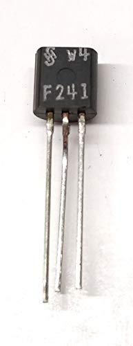 20 Stück BF241 | NPN TRANSISTOR Medium Frequency Amplifier (AM/FM ZF) | 400MHz | Ic 25mA | Vceo 40V | Vcbo 40V | Ptot 0.25W | ITT | TO-92 Gehäuse