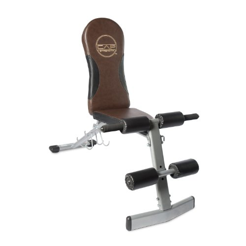 Product Image 1: CAP Barbell Flat/Incline/Decline Bench, Brown