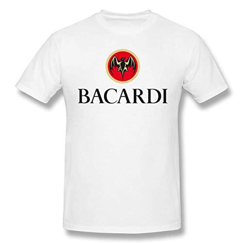 GSBTX® Bacardi Herren Klassisch T Shirt White
