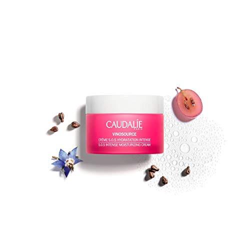 Caudalie Vinosource S.O.S Crema hidratante intensa. La suave crema para una agradable sensación en la piel.
