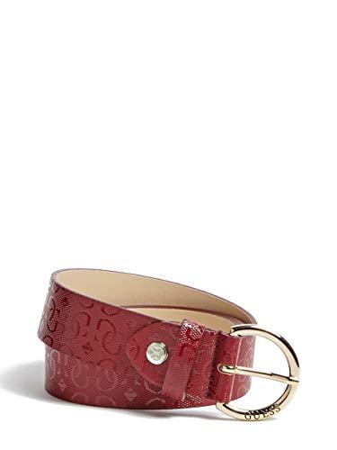 Guess Bw7253 - Cinturón para mujer (talla S), color rojo