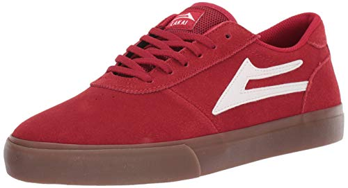 Lakai Skateboard Chaussures Fremont Blanc//Gomme Daim