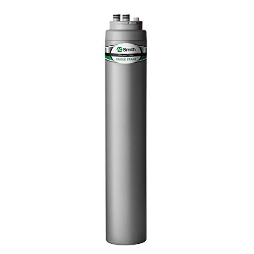 AO Smith Advanced Main Faucet Under Sink Replacement Filter for AO-MF-ADV System - NSF Certified - Claryum Filtration Reduces Up To 99% of 77 Harmful Contaminants - AO-MF-ADV-R
