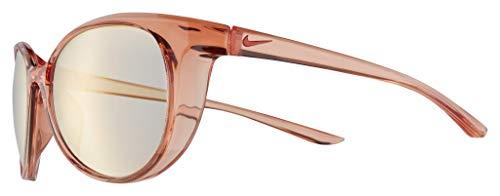 Nike Essence M CT 8229 672 - Gafas de sol (coral, con espejo, color rosa claro)