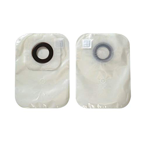 Karaya 5 Colostomy Pouch One-Piece System 12 Inch Length 2 Inch Stoma Closed End, 3325 - Pack of 30