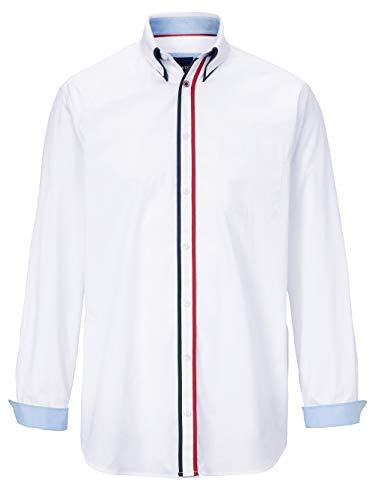 BABISTA Hemd mit Doppelkragen im Button-Down-Stil Weiß