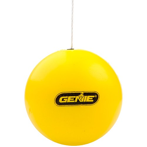 Genie Yellow Perfect Stop Parking Aid – Retractable Ball Compatible with All Garage Door Openers-GPS-R, one Size