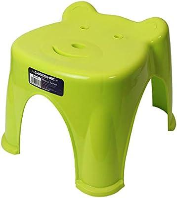 キッズ用バスチェア 幼児用 子供 風呂 椅子 くまさん 水はけ抜群 お風呂が楽しい 座面高さ19.5cm Sサイズ グリーン