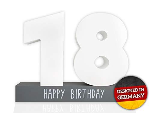 Huckleberry Home® Gästebuch Geburtstag aus Holz - Gästebuch für den Geburtstag für Männer und Frauen inkl. Stift - Kreative Geschenkidee - Tischdeko (18)