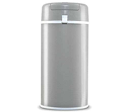 Bubula Steel Diaper Pail, Grey