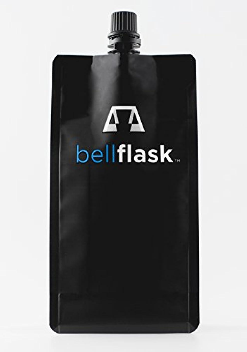 BellFlask - 12 oz. Concealable, Flexible, Reusable, Best, Metal-Free Pack of Three Flasks
