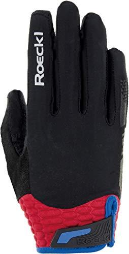 Roeckl Herren Markham Handschuhe, schwarz/Rot, 8.5
