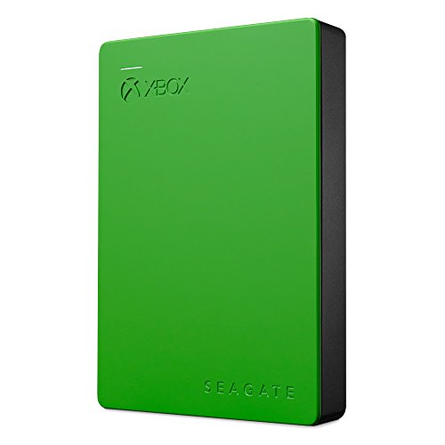 Seagate STEA4000402 Game Drive 4TB External Hard Drive Portable HDD - Designed For Xbox One, Green
