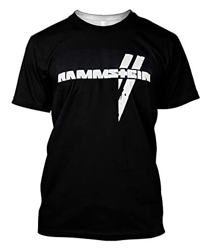 Rammstein - Camiseta - Hombre negro Large