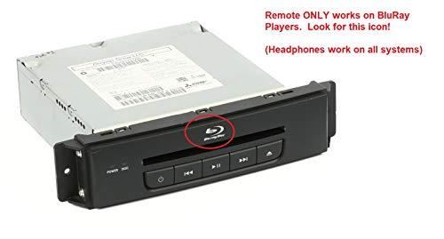 Mopar Chrysler Dodge Jeep OEM Headphones Control Uconnect Audio Kit