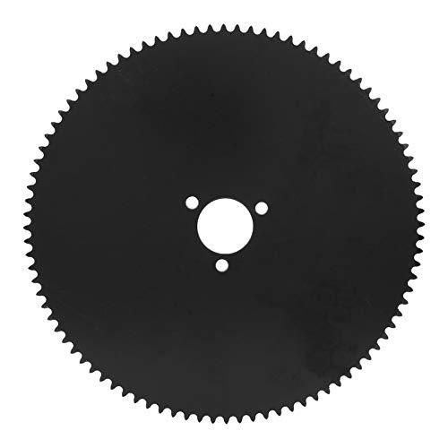 3-Loch Zähne Kettenrad 92 Zähne Stahlkettenrad 25H Ritzel 26mm/1in Innendurchmesser Hinterrad Antriebssystem für Elektro-Scoote Motor-Fahrrad