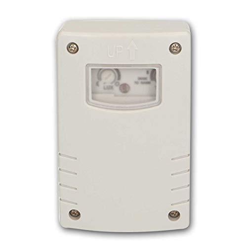 world-trading-net - Interruptor/sensor crepuscular de exterior con temporizador, apto para exteriores